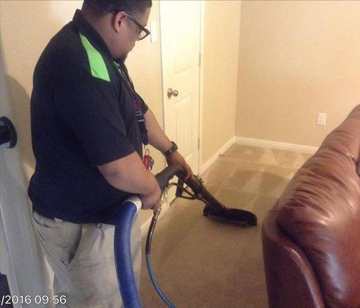 Carpet Cleaning Due To Storm Damage in Missouri City, Tx