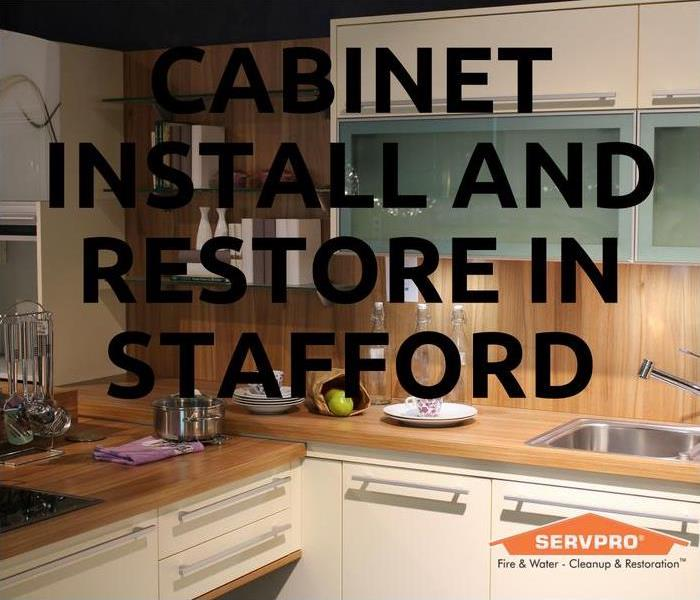Building Services Cabinet Install and Restore In Stafford